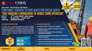 COMPLIANCE STRATEGY TO 'CHIEF INSPECTOR SPECIAL ORDER (NO. 2 YEAR 2020) – MANAGEMENT AND SAFE HANDLING OF MOBILE CRANE'