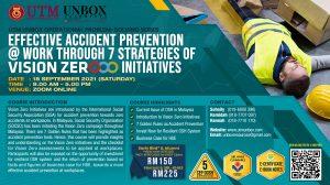 EFFECTIVE ACCIDENT PREVENTION @ WORK THROUGH 7 STRATEGIES OF VISION ZERO INITIATIVES