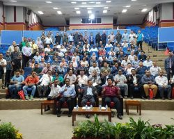 December 2019 - One with DG DOSH, Ir. Hj Omar Mat Piah at OSHCIM Seminar in UTM KL