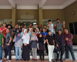 July 2019 - One with our part-time SHO Students (Session 1/2019)